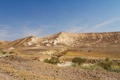 Dead sea cliffs . Stock Image