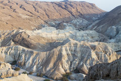 Dead sea cliffs . Stock Photography