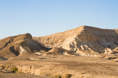 Dead sea cliffs Royalty Free Stock Photo