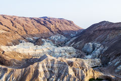 Dead sea cliffs Royalty Free Stock Image