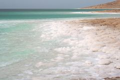 Dead sea coast Stock Photo
