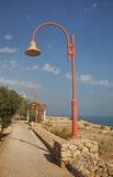 Dead sea coast in Ein Gedi. Israel Royalty Free Stock Image