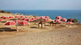 Dead sea coast in Ein Gedi. Israel Stock Photos