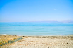 Dead Sea coast, Israel Stock Image