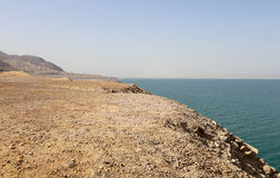 Dead sea coast at Jordan, Middle East Stock Image