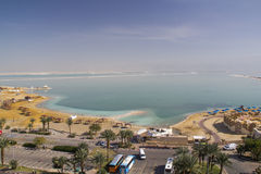 Dead sea coast view Royalty Free Stock Photography