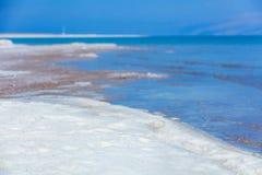 Dead Sea coastline Royalty Free Stock Photography