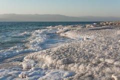 Dead sea coastline Royalty Free Stock Image