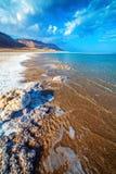 Dead Sea coastline Royalty Free Stock Images