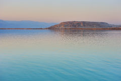 The Dead Sea before dawn Stock Photos