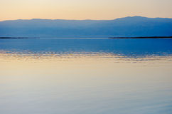 The Dead Sea before dawn Stock Images