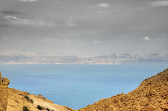 Dead Sea dramatic view. Royalty Free Stock Photos
