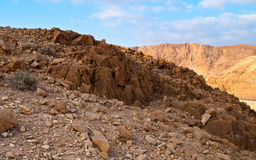Dead Sea Hills Stock Photography