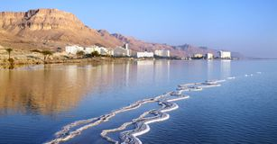 Dead Sea hotel complex Royalty Free Stock Photography