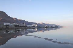 Dead Sea hotel complex Stock Image