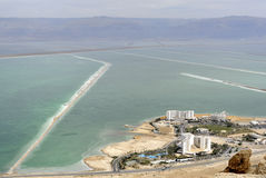 Dead sea hotels. Stock Photos