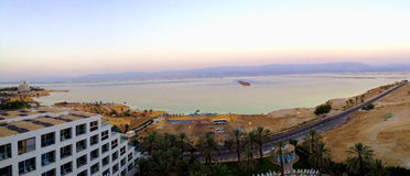 Dead sea hotels resort, Israel Royalty Free Stock Image