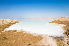 The dead sea in Israel Royalty Free Stock Photo