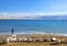 Dead Sea from Israel Stock Photo