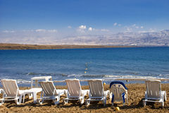Dead Sea from Israel Stock Image