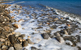 Dead Sea from Israel Royalty Free Stock Image