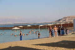 Dead Sea in Israel - Ein Bokek Royalty Free Stock Photos