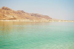 Dead Sea, Israel. View of the Dead Sea, Israel Stock Photo