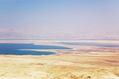 Dead sea and Judea deset Stock Images