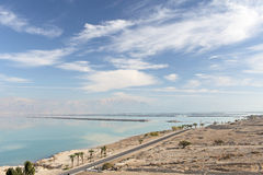 Dead Sea landscape Royalty Free Stock Photography