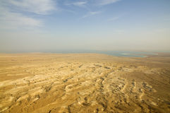 Dead-Sea landscape Stock Images