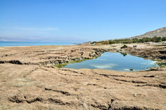 Dead Sea landscape Stock Image