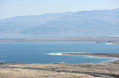 Dead Sea landscape. Royalty Free Stock Photo