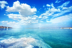 Dead Sea landscape on a  day. Nice Dead Sea landscape on a summer day Stock Images