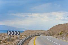 Dead Sea Landscape Stock Photo