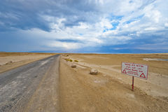 Dead Sea Landscape Stock Photography