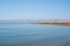 Dead Sea landscape view Israel coast Stock Photography