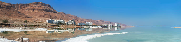Dead Sea. Life on the shores of the Dead Sea Royalty Free Stock Photography