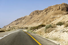Dead Sea Mountains Stock Photos