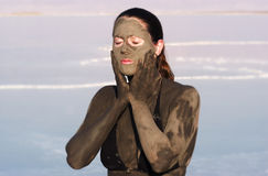 Dead Sea Mud Stock Photo