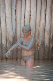 Dead Sea Mud bath   Stock Photos