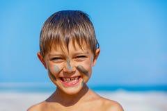 Dead Sea Mud bath Treatment Royalty Free Stock Image