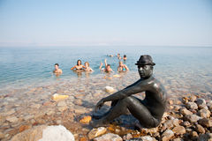 Dead Sea Mud Lovers Royalty Free Stock Photos