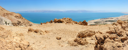 Dead Sea Panorama Stock Photography