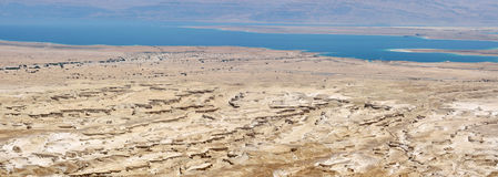Dead Sea panorama. Royalty Free Stock Images