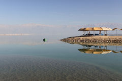 Dead Sea reflections Stock Image