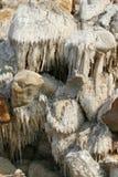 Dead sea. Salt. Stock Photo