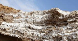 Dead sea salt at Jordan Royalty Free Stock Image