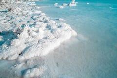 Dead sea salt Stock Photos