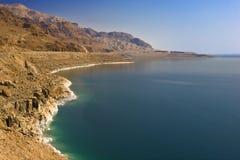 The Dead Sea scenery. Jordan. Coastline of the Dead Sea Royalty Free Stock Photography