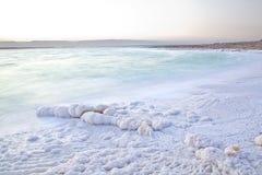 Dead Sea shore Royalty Free Stock Photo